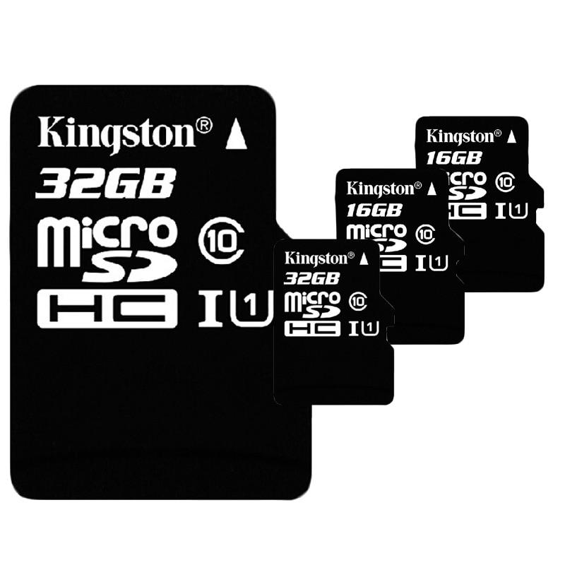 Kingston Class 10 Micro Sd Card 16gb 32gb 64gb 128gb 256gb Memory Card C10 Mini Sd Card C4 8gb Sdhc Sdxc Tf Card For Smartphone