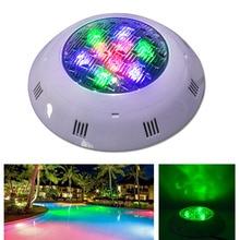Jiawen 9W 12W DMX512 RGB Swimming LED Pool Lights Underwater Lamp Outdoor Lighting Pond lights led piscina Lamp DC 24V