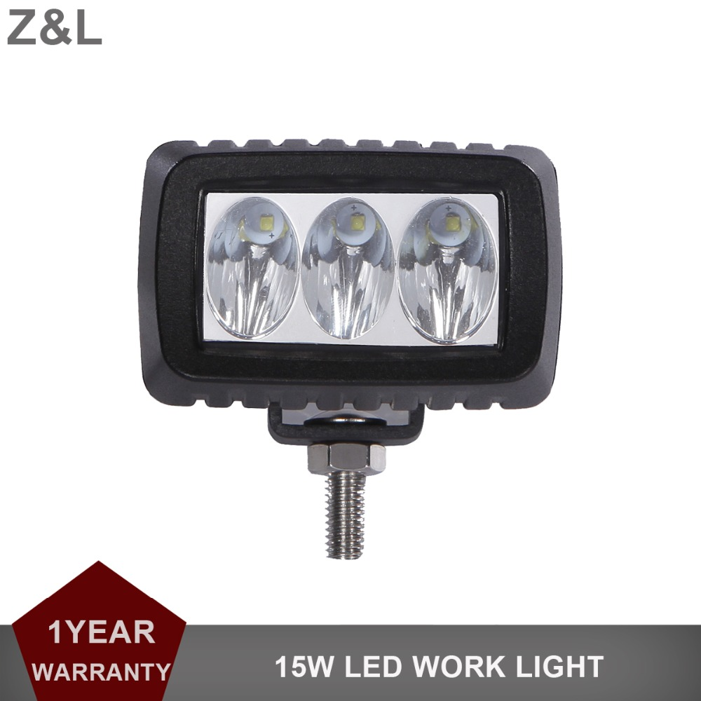 15 w Offroad LED Travail Lumière Bar 12 v 24 v Voiture Moto Camion SUV Vélo VTT 4X4 4WD AWD UTE Tracteur Remorque Phare Brouillard Lampe