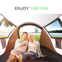 Outdoor Full Automatic Instant Unfold Rain Proof Tent Family Multi Functional Portable Dampproof Camping Tent Suit