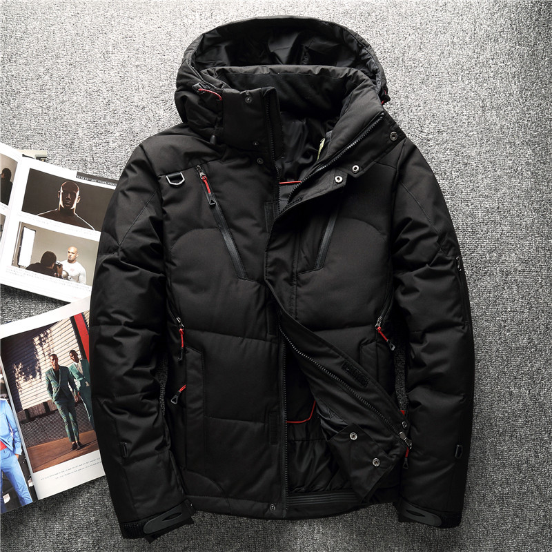 2018 winter High Quality 90% White Duck Down Jacket men coat Snow wellestern parkas male Warm Brand Clothing Down Jacket