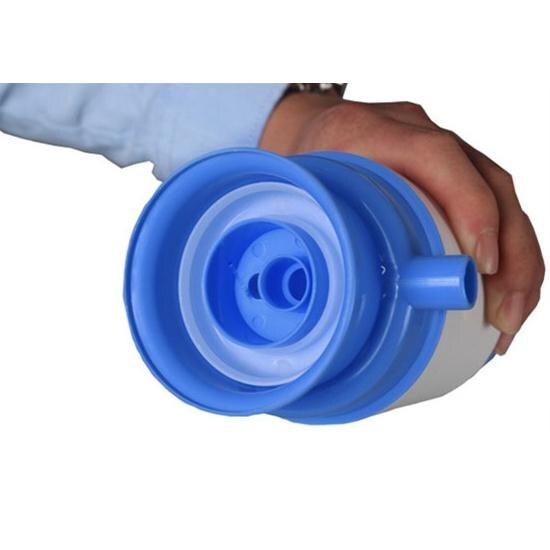 5 Gallon dzeramais ūdens pudelēs Ideāls rokas spiediena manuālais - Virtuve, ēdināšana un bārs - Foto 3