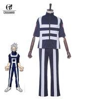 ROLECOS Japanese Anime Boku No Hero Academia Cosplay Katsuki Bakugo Cosplay Costumes Unisex Jumpsuit My Hero