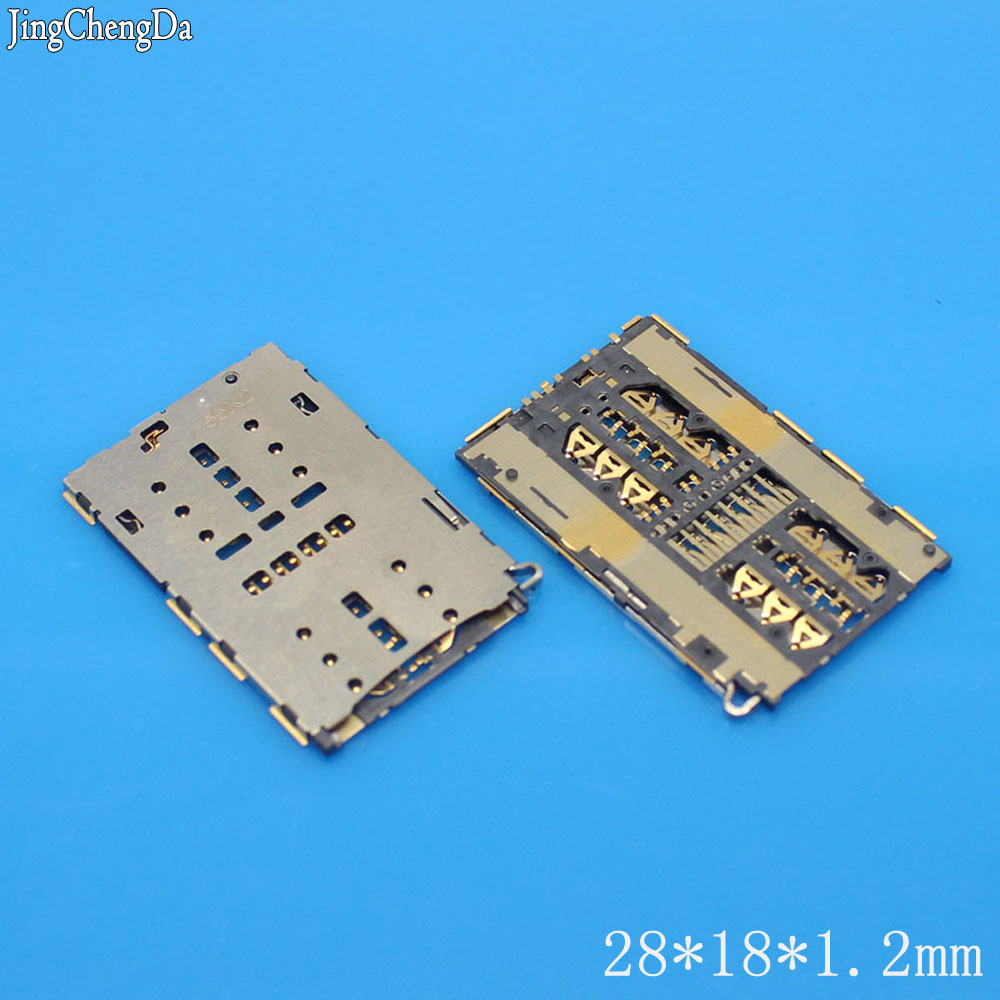 1pcs/lot l New SIM card Socket Holder Slot Tray Replacement for ZTE A2015 Axon S291 S521Grand S II LTE B2015 high quality
