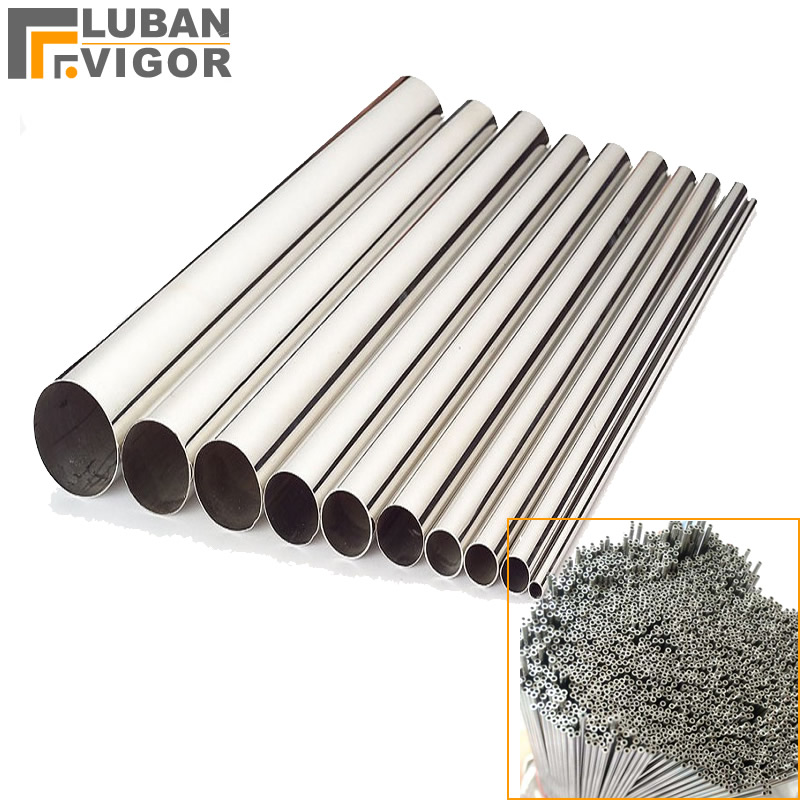 Customized product,Seamless 304 stainless steel pipe,outer diameter  2 5mm,wall thickness0 8mm,1Mx30pcs