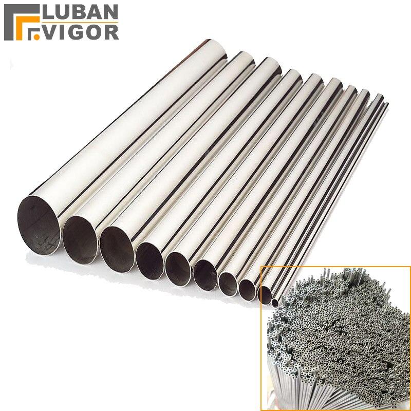 Prodotto su misura, Senza Soluzione di Continuità in acciaio inox 304 tubo, diametro esterno 2.5mm, da parete thickness0.8mm, 1 m x 30 pz