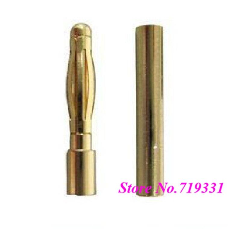 20 Paires 3 mm or 3.0 mm Connecteur Banana Plug pour RC batterie ESC Motor Accs