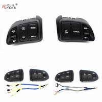 PUFEITE free shipping Multi function Steering Wheel Audio Cruise Control Buttons For Kia sportage SL with back light car styling