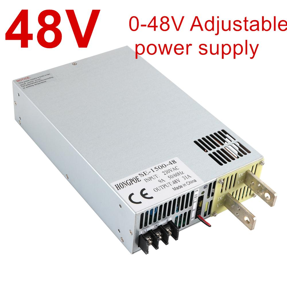 110/220/380VAC 1500W~8000W 48V Power Supply 48V 0-5V Analog Signal Control AC-DC High Power 0-48V Adjustable Power DC48V