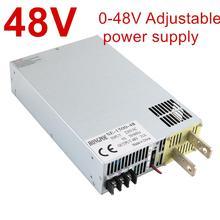 Alimentation 110/220/380V ac, 1500W ~ 8000W, 48V, commande de Signal analogique AC DC, haute puissance réglable 0 48V, dc 48V