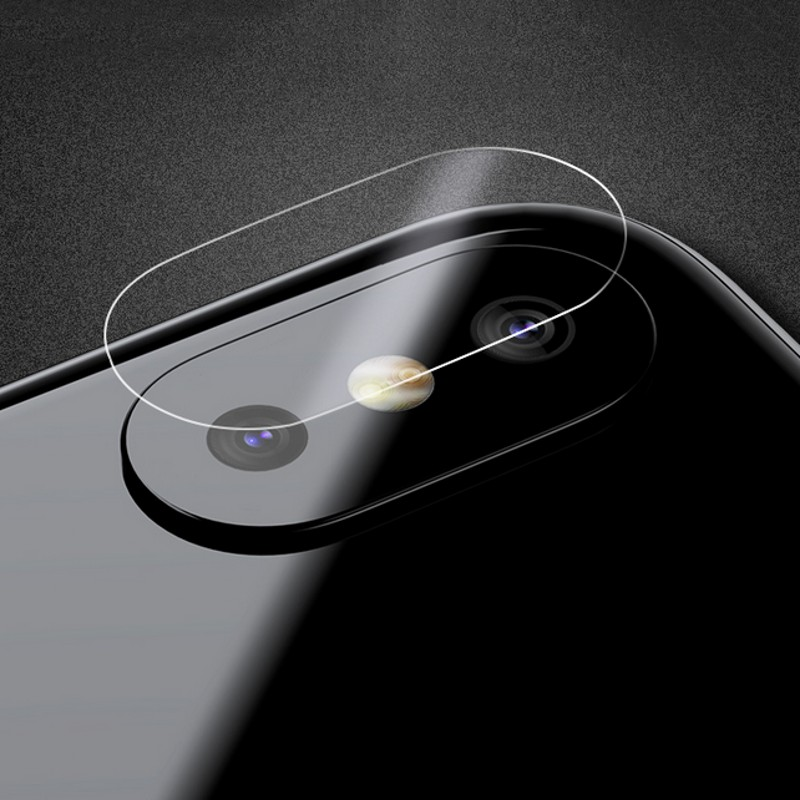 10PCS Camera Lens Tempered Glass For iPhone X 8 7 7Plus 8Plus Protector Protection Film Back Sticker Cover Camera Galass Film