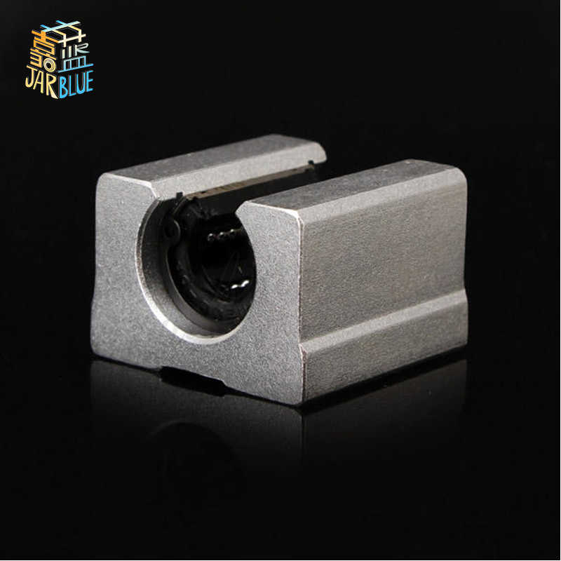 Free Shipping 1pcs SBR10UU SBR12UU SBR16UU SBR20UU SBR25UU SBR30UU linear Ball Bearing Block open type Router SBR linear guide