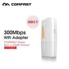 powerful receiving raspberry pi wifi usb wifi adapter 300mbps comfast wifi mini adapter COMFAST CF-WU835