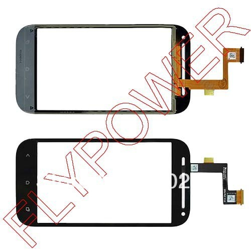 For HTC One SV C525e  T528t Touch Screen Digitizer Glass Black by free shipping