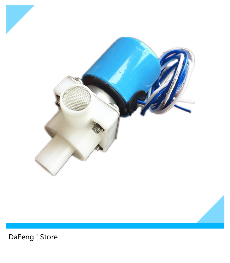 Free Shipping 12Vdc Food Grade Water Release Solenoid Valve Normally Closed 2 Way Low Pressure 0-1.0PSI