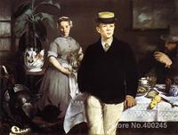 Luncheon in the Studio Edouard Manet painting for sale Hand painted High quality
