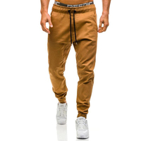 Brand Men S Pants 2017 New Fashion Slim Solid Color Elasticity Men Casual Pants Man Trousers