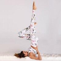 Yoga Set Gym Fitness Sportwear Women Training Running Leggings Jogging Crop Tops Sport Bra & Tight Workout Suit