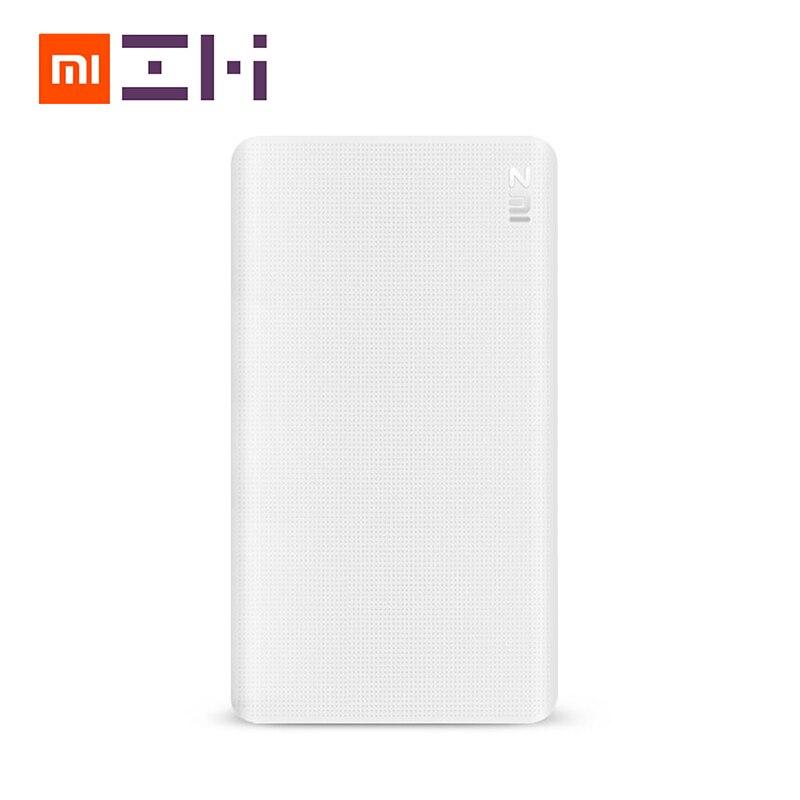 Оригинальный Xiaomi зми <font><b>5000</b></font> мАч Мощность банк Двусторонняя Quick Charge QC 2.0 Запасные Аккумуляторы для телефонов для IOS Android-смартфон
