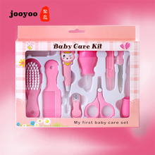 Baby Health Care Set 10PCS Portable Newborn Tool Kits Kids Grooming Kit Safety Cutter Nail jooyoo