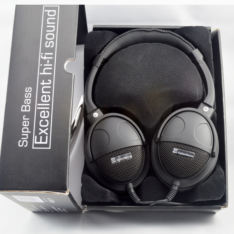 2017 T-803 Super Bass Wired Headset Hi-Fi Sound Earphone 50mm Six Speakers Units Monitor Headphone With Mic For MP3 MP4 Computer buy monitor with speakers