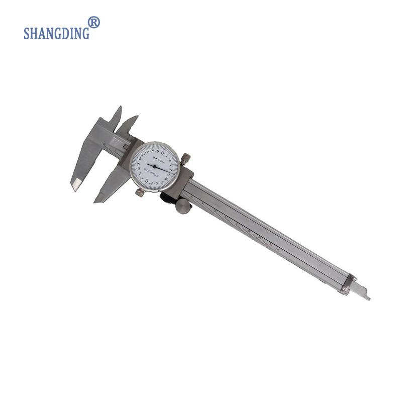 Shock-proof Stainless Steel Precision Vernier Caliper Metric Micrometer Gauge Measuring Tool Dial Caliper 0-150mm/0.02mm  цены