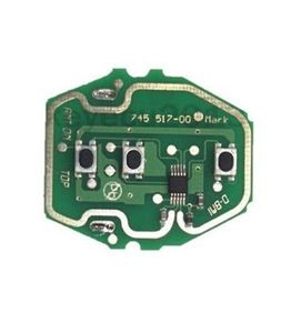 Image 2 - Keyecu 10PCS * 3 כפתור שלט רחוק המעגלים עבור BMW EWS מערכת 1995 2005 315/433MHz ללא מפתח מעטפת אין סוללה