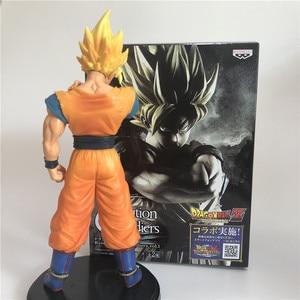 Image 4 - Dragon Ball Z Goku Super SaiYan Awakening Gohan Father Trunks Vegeta PVC Anime Figure DBZ Collection Model 23cm