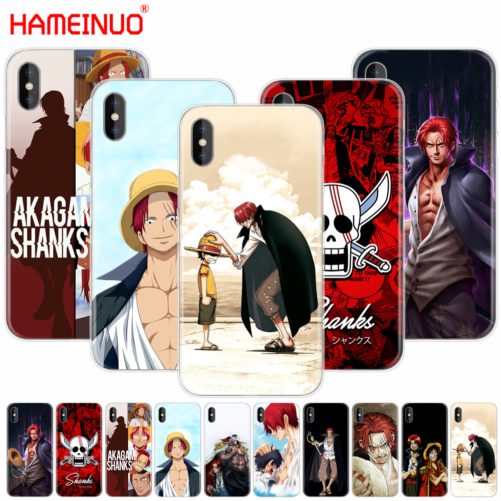 one piece shanks anime iphone case