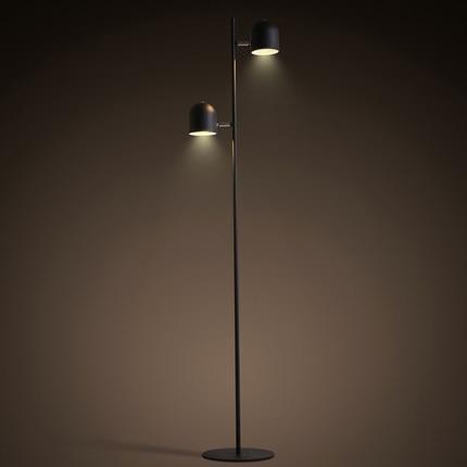 Neue moderne design schlafzimmer boden lampen nordic eisen kurze ...