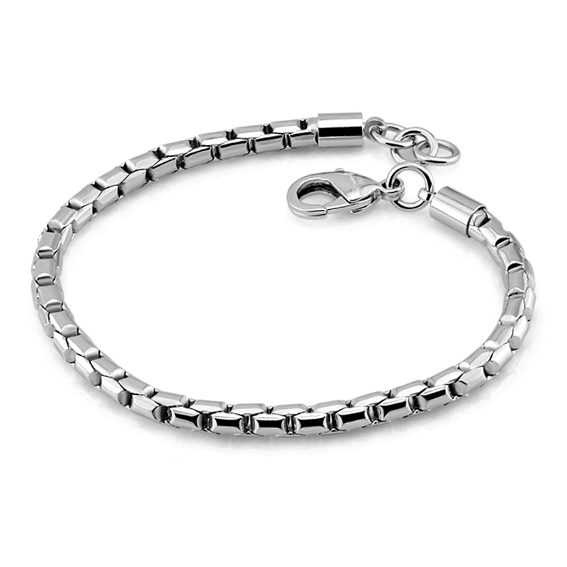 925 sterling silver 5mm 18/20 cm snake chain hand bracelet & bangle for men women Sterling silver jewelry fashion charm brand