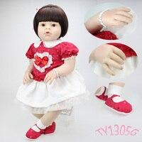 Npk коллекция 70 см арианна мягкой тканью тела реалистичные довольно малышей baby girl милые короткие волосы князей силиконовые reborn baby dolls