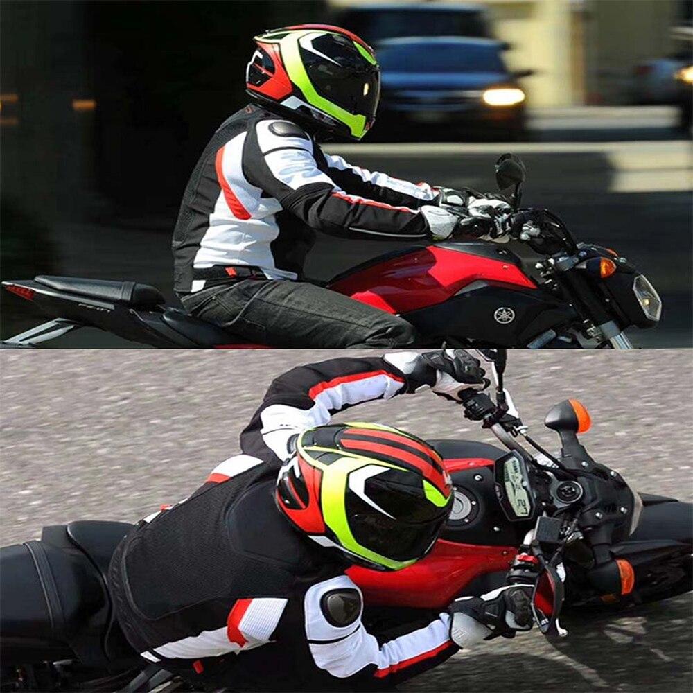 Moto Da Corsa Si Adatta Alle Giubbotti Cavaliere Tessili Per La Lega Di Spalla Di Protezione Del Motociclo Del Rivestimento Auto Da Corsa Giacca Con Protezioni