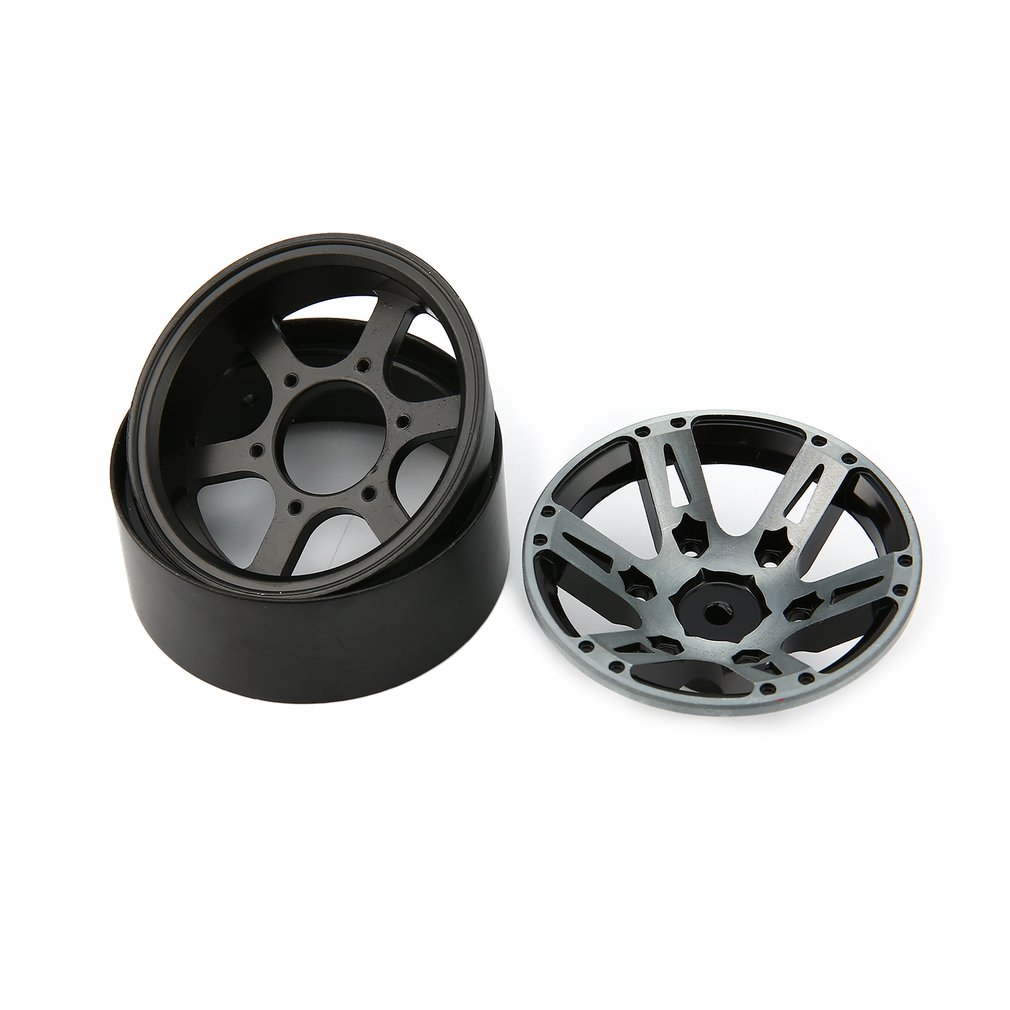Image 3 - 4pcs T power 1.9 Inch RC Tires Beadlock Alloy Wheels Hub Beadlock Rim Set for 1/10 RC Car RC Component Spare Parts Accessories-in Parts & Accessories from Toys & Hobbies