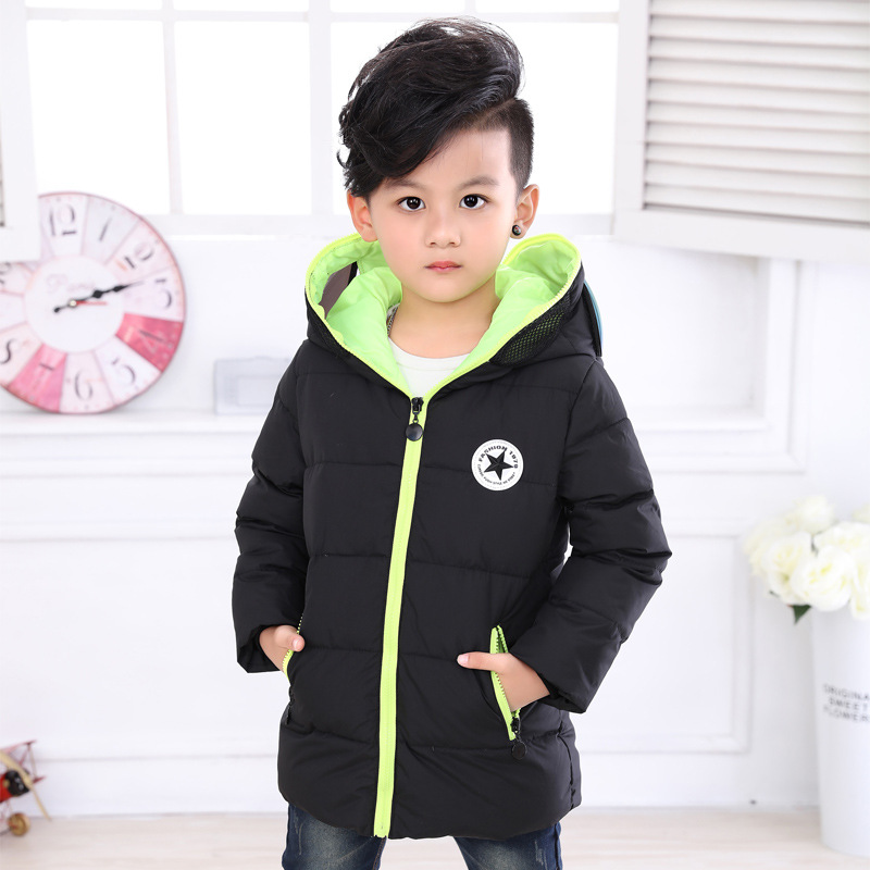 Winter Boy Girls Down Jacket Outerwear Children Brand Zipper up ...