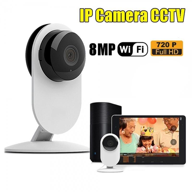 imágenes para 0.3MP HD WiFi Inalámbrico Niñera IP Noche Cámara de Vídeo Digital Mascota Bebé Monitor de visión Webcam Red CCTV Cámara de Seguridad de LA UE enchufe