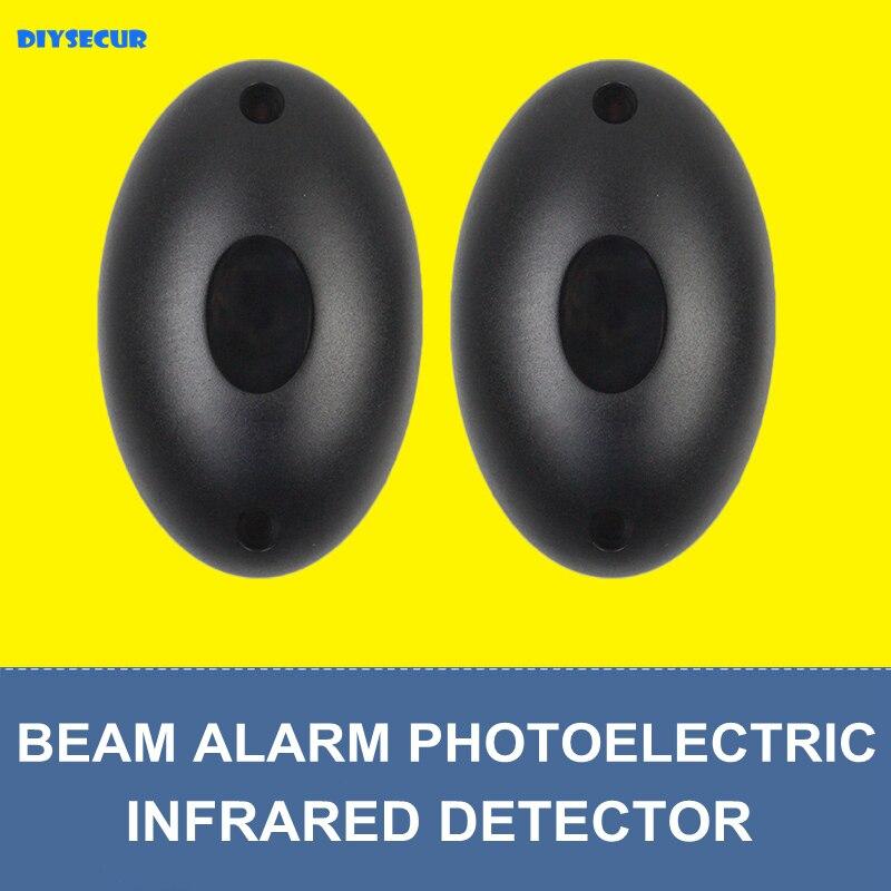 DIYSECUR IP55 Automated Gate Safe Infrared Detector Sensor  Swing  Sliding Garage Gate   Door Safety Infrared Photocells