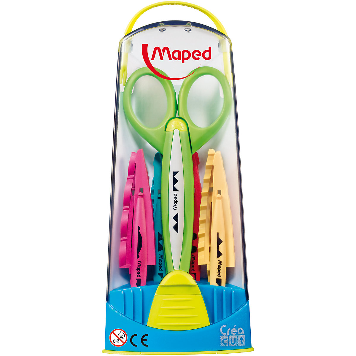 MAPED Scissors 7379380 Curly Office Scissor For School For Children For Boys And Girls MTpromo