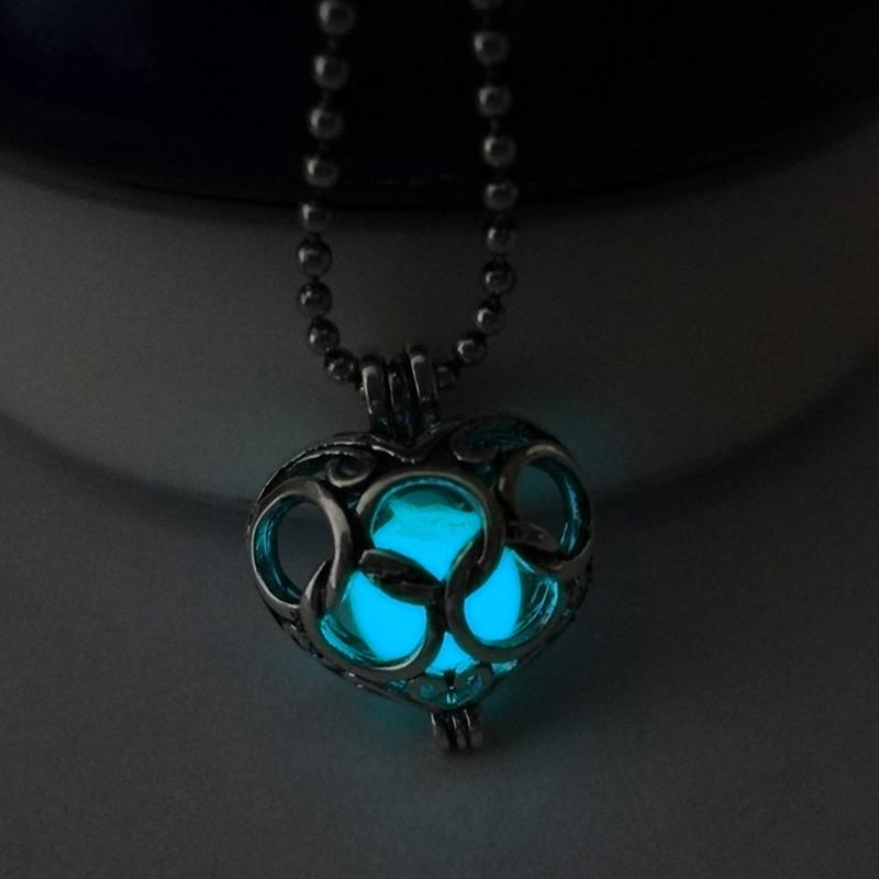 Legend of Zelda Glow In the Dark Silver Necklace