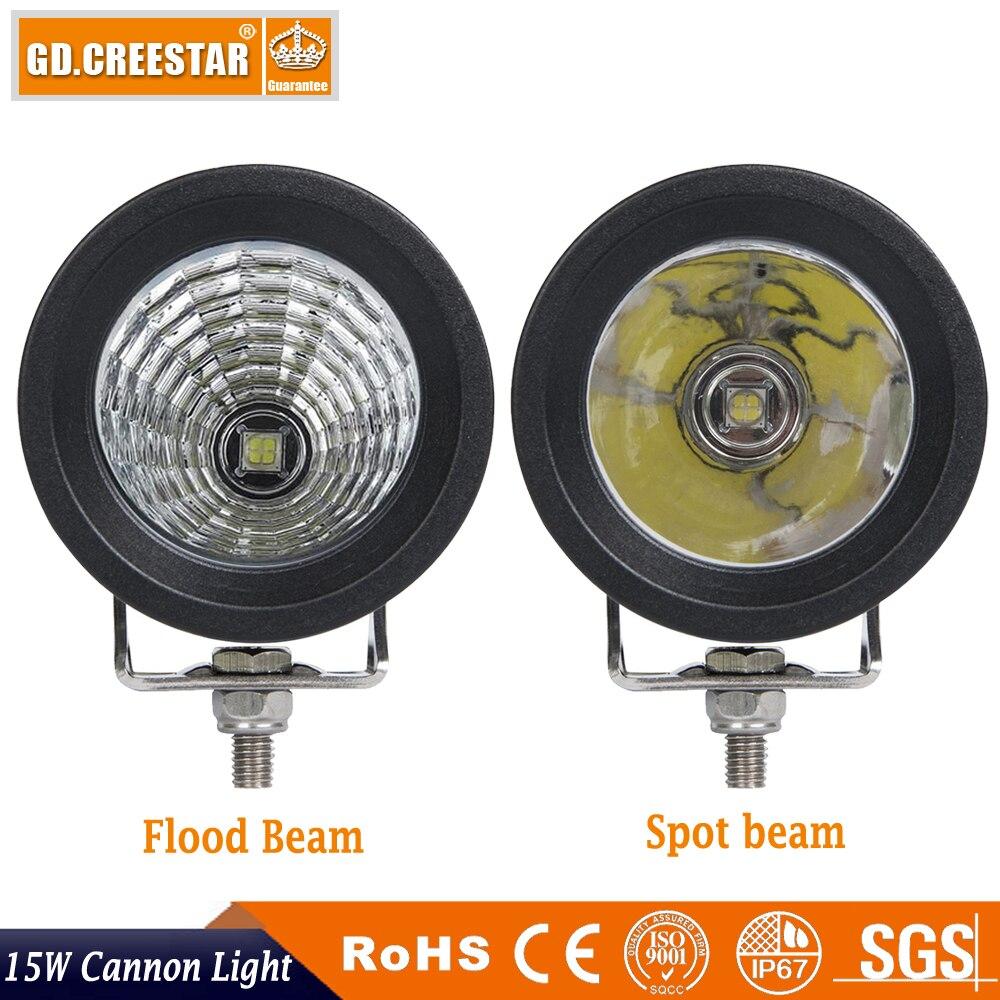 15W 3inch LED աշխատանքային լուսավորություն - Ավտոմեքենայի լույսեր - Լուսանկար 4