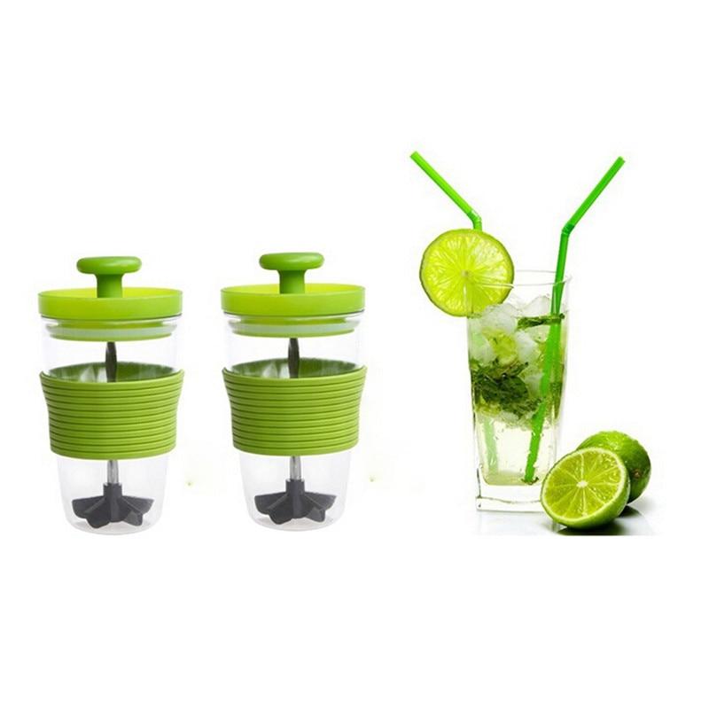 A10 2016 high quality Creative Manual Fruit Juicer Press Juice Outdoor Portable Mixing Cup