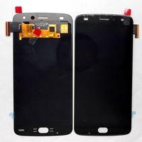 Amoled For Motorola Moto Z Play XT1635 Lcd Display+Touch Glass screen digitizer assembly Pantalla black/white