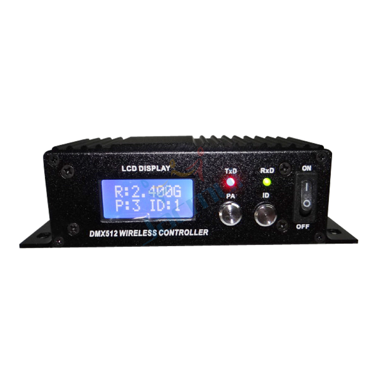 Nouveau contrôleur Dmx sans fil 2.4G récepteur et transmetteur sans fil avec antenne Dmx 512 relais de Signal contrôleur d'éclairage sans fil
