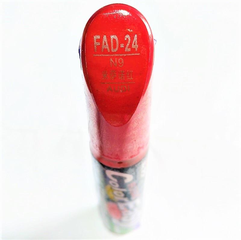 Car scratch repair pen, auto paint pen for AUDI A3 A4 A5 A6 A8 Q5 Q7 Q3,car painting pen