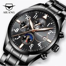 ae4edc8a2079 AILANG AAA hombres reloj de calidad mecánico automático diesel reloj de  buceo hombres comandante steampunk reloj