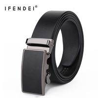 IFENDEI Designer Belts Men Luxury Genuine Leather Belt First Layer Belt 100 High Quality Business Wild