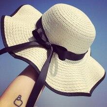Шляпа tri polar Женская пляжная летняя соломенная шляпа 2018