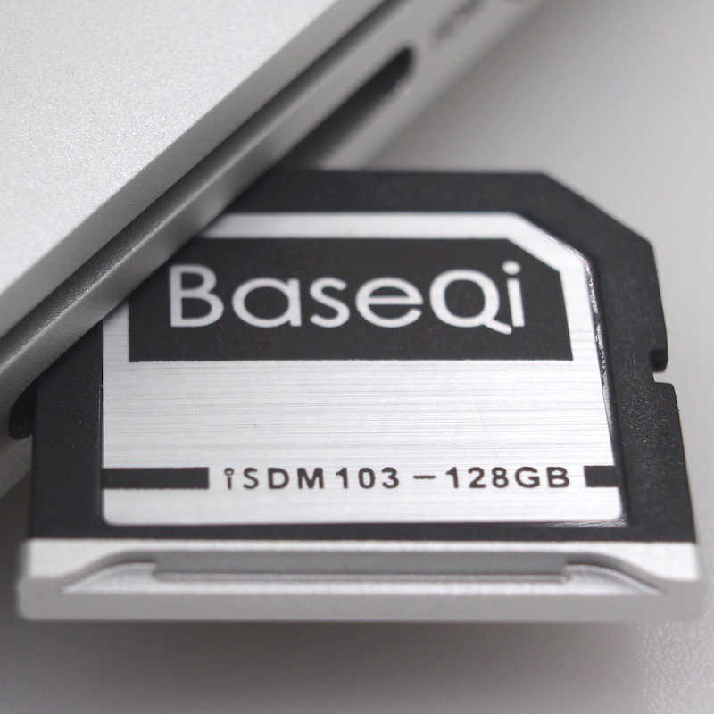 BaseQi Aluminum Mini Drive 128GB SD Card For Dell XPS 15