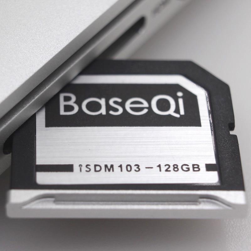 Baseqi Aluminum Mini drive 128GB Memory Card For Macbook Air 13/Dell XPS 15 9560 Ninja Stealth Drive карта памяти 128gb transcend jetdrive lite 130 ts128gjdl130 для macbook air 13 l10 e14