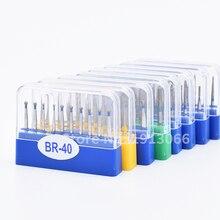100 stuks Dental carbide burs Diamond FG Hoge Snelheid Boren voor Polijsten Smoothing Tandheelkundige Boren HP burs